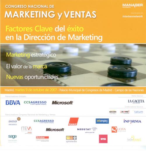 Congreso Nacional Marketing y Ventas 2007
